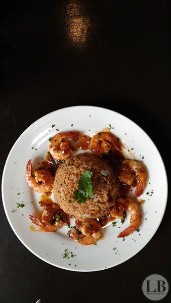 VIttorio's Sweet Chilli Prawns with Rice P 325 1